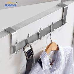Sobre o gancho de porta cabides de Metal Personalizado Coat Rack Organizador de fios de aço inoxidável