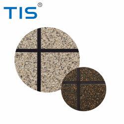 Finition texturée en pierre Effet marbré de peinture en aérosol / flocon de polymère de matières premières pour matériaux architecturaux décoratif