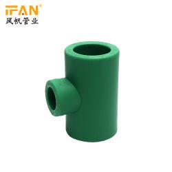 Ifanplus PPR труба фитинг сократить тройник PPR фитинг сокращения тройник пластиковый трубный фитинг для PPR труба