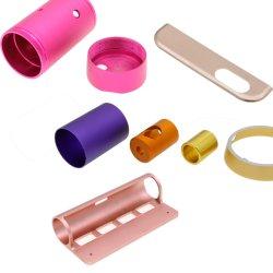 Les métaux 3 et 5 de l'usinage CNC les engrenages de vis sans fin de l'axe des pièces