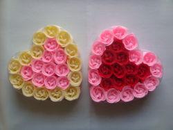 Le papier du savon Fleur pour cadeau de mariage
