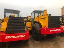 Utilizar el rodillo de la carretera, carretera de Dynapac rodillo, que se utiliza maquinaria de construcción, máquinas de carretera