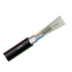 Necero 20 años de la comunicación de la fábrica de fibra óptica de OEM de alimentación Cable multifilar GYTA G652 de fibra óptica
