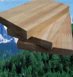 El alerce finger joint Gluelam pedazo de madera
