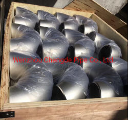 ステンレス鋼201の明るい溶接されたタイプ90度の肘の卸売価格Cdpt1010