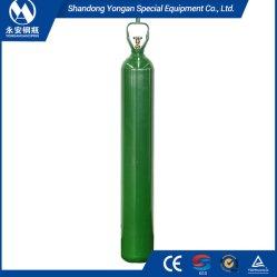 40L-50L 200 бар 5.8mm ISO9809-1 высокий сосуд высокого давления бесшовных стальных кислородный баллон с Cga540 клапан и винты с головкой