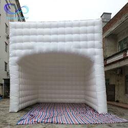 Коммерческие надувные Cube палатка белый стенд надувные площади дворе партии палаток наружной рекламы на дисплее палатки