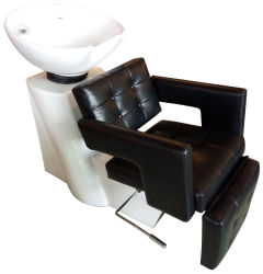 Salone di alta qualità impermeabile Shampoo Bowl e sedia Luxury Salon Hair Wash Shampoo testa letto Shampoo in vendita