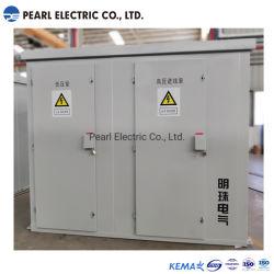 3-fasig 60 Hz 2500 kVA 34500 V-480y/277 V Pad gemonteerd Transformator