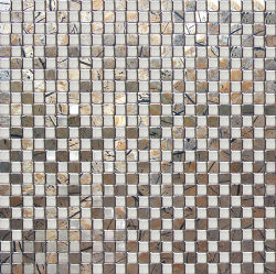 Metalen mozaïek tegel muur Decoratieve keuken Decoratie