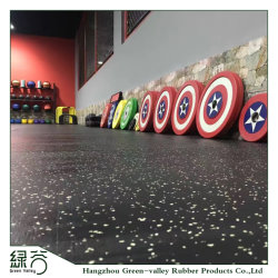 Personalizada de Fábrica Densidade Alta Ginásio zona de gravidade piso de borracha antiderrapante / Fitness piso de protecção reciclar tapetes de borracha