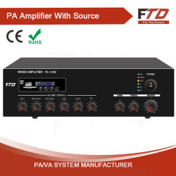120W Public Address System Mixer Amplifier mit Echo