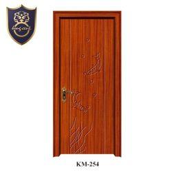 Diseño de la puerta de MDF recubierto de PVC con carcasa de Jamba para dormitorios