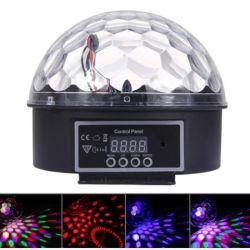 De sterrige LEIDENE van de Partij van DJ van de Lamp van de Projectie van de Hemel van de Nacht van Bluetooth van de Projector Lichte Kleurrijke Sterrige Lichten van het Stadium