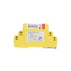 Controlo Industrial 24V 48V 10ka 20ka e o sinal de dados SPD guiado Surto de Raios Protector de protecção