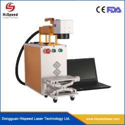 Marcador de máquina de marcação a laser de fibra de alta precisão para o cobre Ss Steel