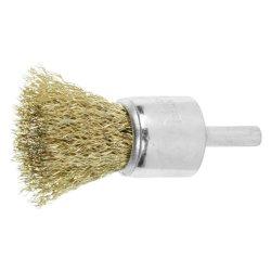 Puxador estendido o fio de aço de moagem de Escova Escova de cerdas da escova de nylon Derusting Cabeça de escova de polimento