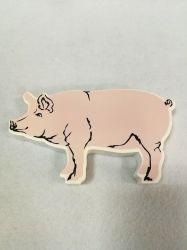 Hölzerner Tierschwein-Block (groß)