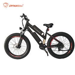 大人24/26inch 750Wの後部ハブモーター電気脂肪質のバイクのためのアルミ合金Ebike