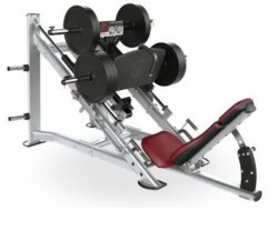 Neues Leben-Geräten-Handelsgymnastik-Maschinen-Stärken-Geräten-lineare Bein-Presse-Eignung-Eignung