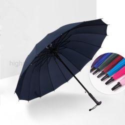 ゴム製コーティングのハンドル自動まっすぐな手動屋外旅行昇進のギフトのための傘によって逆にされる傘雨傘のゴルフ傘
