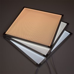 Высокая яркость лазерного пунктирной плексигласа акриловый Light Guide панель для ЖК-дисплей с подсветкой и светодиодного освещения