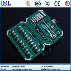 Insieme di strumenti multiuso manuale dello strumento della chiave a cricchetto del manicotto dei bit di cacciavite della cassetta portautensili 53PCS del hardware per i kit di strumento di riparazione automatica