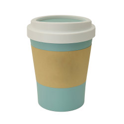 유리제 커피 차잔 세트