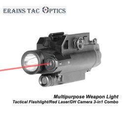 تكتيكيّ 3 [إين-1] [كمبو] من مفتاح مغنطيسيّة حمراء ليزر جهاز تسديد ومسدّس مدفع [لد] مصباح كهربائيّ مع [هد] آلة تصوير