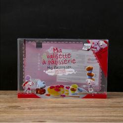 透過Pet Polyvinyl Chloride PP Packaging Transparent Plastic Folding Gift Box Printing、Stationery、Pens、Food、Cosmetics、Razors、Paper TのWidely Used