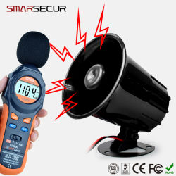 Avertisseur sonore de la Sirène filaire 12V pour système de sécurité d'alarme sans fil à domicile