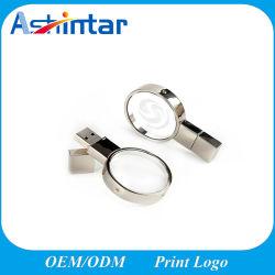 Runde Form USB-Stock-Flash-Speicher-Schmucksachen USB-Blitz-Kristalllaufwerk