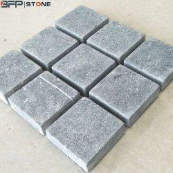 China-schwarzer Kalkstein, der Kopfstein-Stein für Europa-/Australien-Markt pflastert
