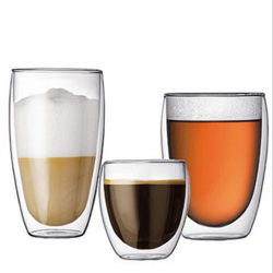 Bodum Double Wall Glas Tasse für Eissaft 12oz