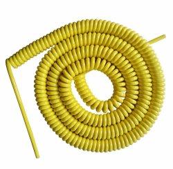 Polyuréthane électrique électrique PG/isolation PVC isolation résistant aux huiles d'eau PUR Câble spiralé de printemps Cordon spirale