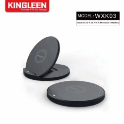Ultra-Dünne Qi-drahtlose aufladenstandplatz-Auflage für iPhone Xs maximal, iPhone X, iPhone 8/8 Plus, Samsung