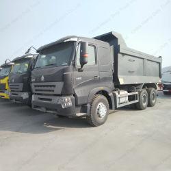 25 tonnes à 30 tonnes 6*4 HOWO camion à benne basculante de commande radio