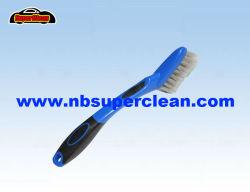 Mini carro roda escova plástica, Escova de pneu, Escova de Automóveis (NC1857)