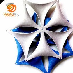 Polyester vezel Sneeuwstukken 3D Product voor Office Window Decor