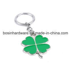 금속 사기질 선물 4 잎 Keychain