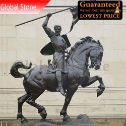 Литая деталь бронзовую статую воина скульптура (GSBR-507)