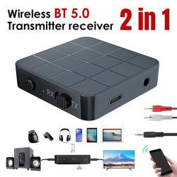 2 en 1 Émetteur récepteur audio Bluetooth 5.0