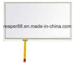 7 pouces avec écran tactile résistif 4 fils s'appliquent d'interface pour appareil industriel et de la voiture périphérique.