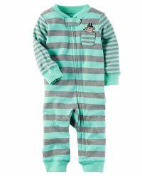 Los bebés varones' cálido algodón Footless Sleep & Play palo