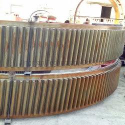 Kogelmolen onderdeel Groot diameter Casting Staal half tandwiel ring