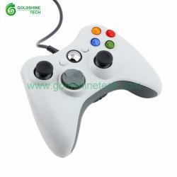 Weiße xBox360 verdrahtete Farbe Gamepad des USB-Controller-4 androide intelligente Fernsehapparat-Kasten-Steuerknüppel-Spiel PC Gamer Spiel-Auflage für xBox nehmen 360 Joypad ab