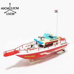 La fête des enfants Don de grands bateaux de jouets qui flottent RC Bateau de sauvetage