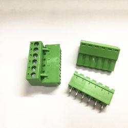 blokken van de Schakelaar van de Kabel van PCB van de Hoogte van 5.0mm de Elektrische Eind