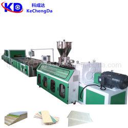 専門のProduction PVC天井Panel/PVC大理石のProfile /PVC WPC Frame Profile Production Machine