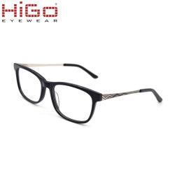 Deel het van uitstekende kwaliteit van het Metaal met Optische Frame van het Oogglas van de Acetaat het In het groot